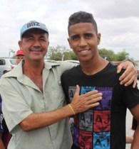 Gabriel deixou o torcedor muito a vontade como foi o caso de Jorge Luiz (Boy).
