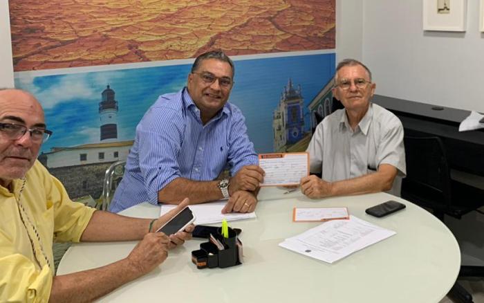 Valdemi de Assis acompanhou o ato de filiação de Zelito ao Solidariedade