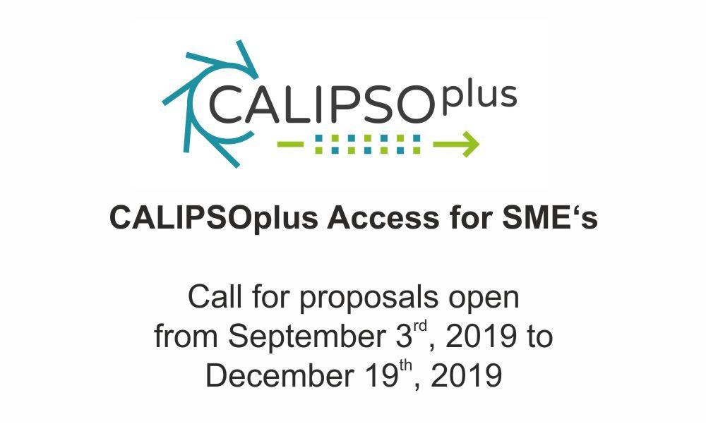190917_CALIPSOplus_Announcement_Call_TamaTA_Access_SME