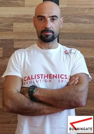 istruttore calisthenics burningate francesco giacchi