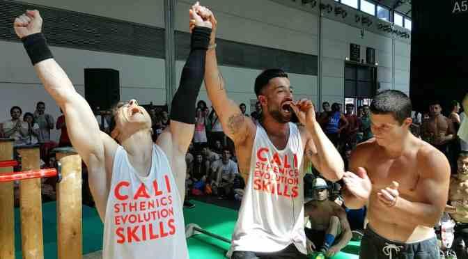 Andrea Larosa vince il Campionato Italiano di Calisthenics a Rimini Wellness 2016