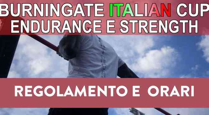 FINAL 8 – ITALIAN CUP ENDURANCE & STRENGTH CUP