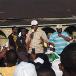 Donald Duke at the Jedy Agba rally