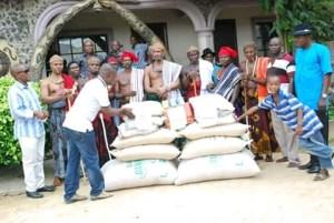 Mkpani Community, Relief Materials, Yakurr Local Government Area
