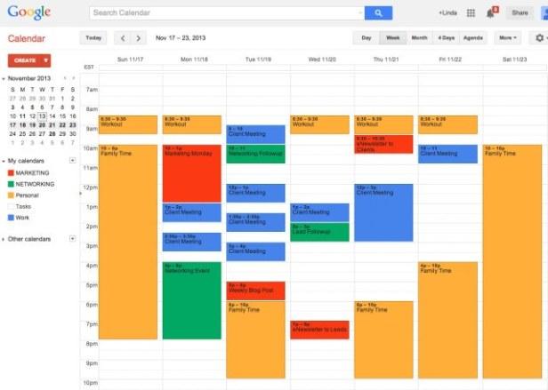 Diary management