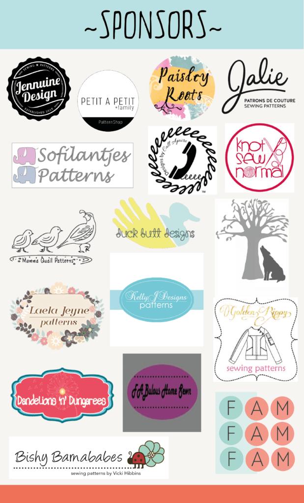 Sponsors-Petit Oiseau Blog tour
