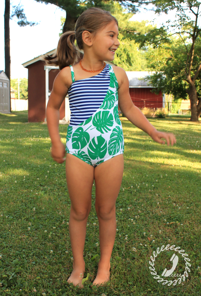 Swim Week – Sash Swimsuit Upper Bodice Pattern Hack