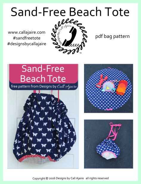 Sand-Free Beach Tote Cover Page