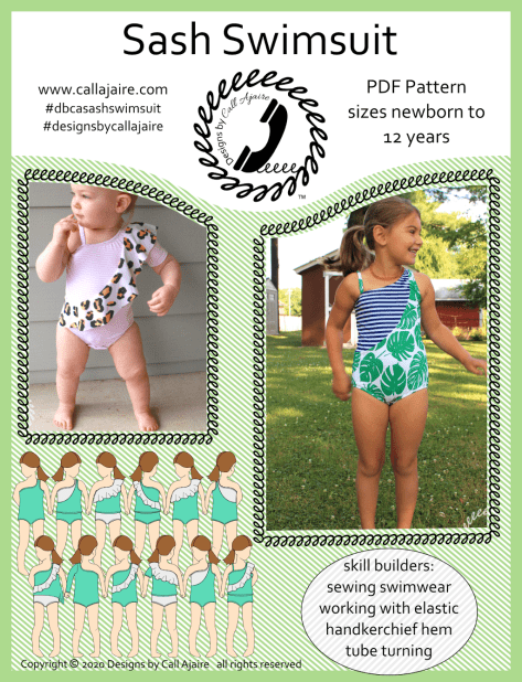 Sash Swimsuit Cover Page