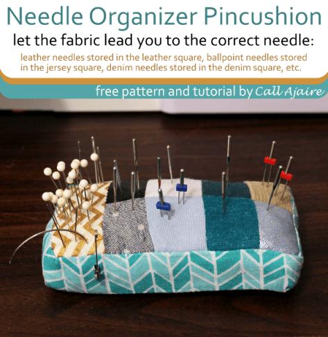 Needle Organizer Pincushion