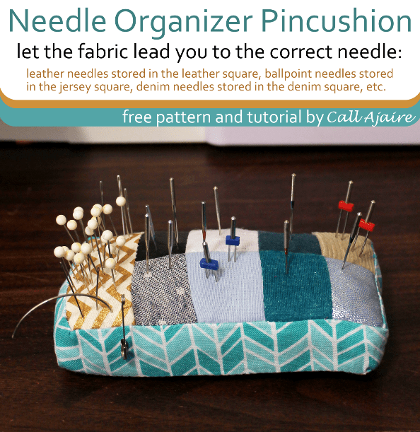 Needle Organizer Pincushion