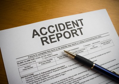 Sample Car Accident Report Form