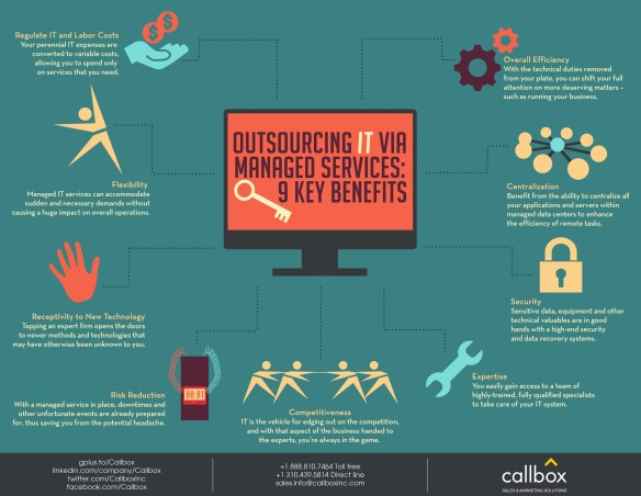 Outsourcing IT via Managed Services - 9 Key Benefits