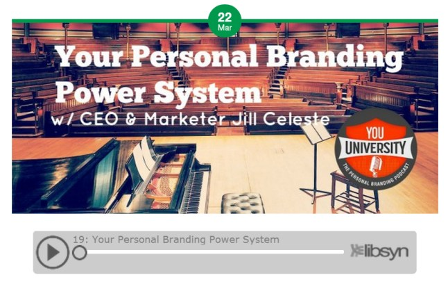 Your Personal Branding Power System - Podcast