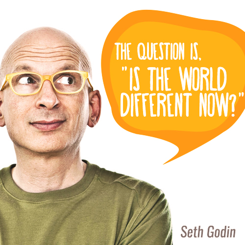 """The question is, """"is the world different now?"""