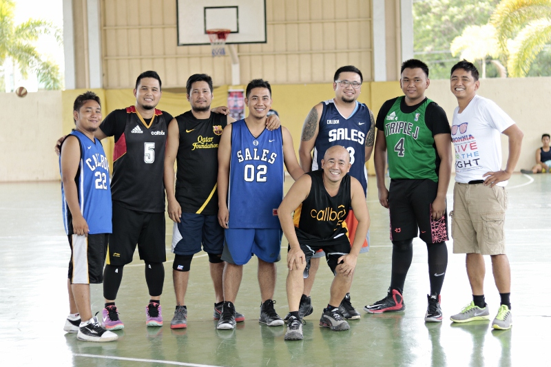 Basketball Participants
