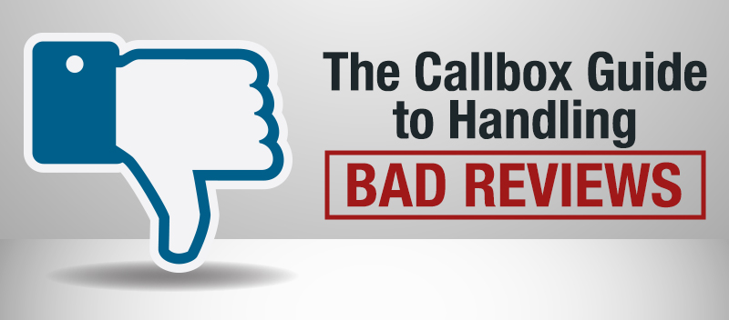 The Callbox Guide to Handling Bad Reviews
