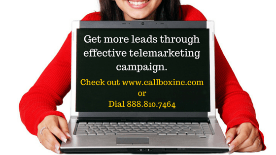 Get more leads through successful telemarketing campaign.