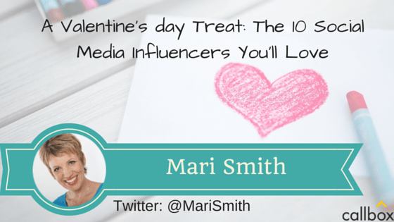 Mari Smith - A Post Valentine's day Treat: The 10 Social Media Influencers You'll Love