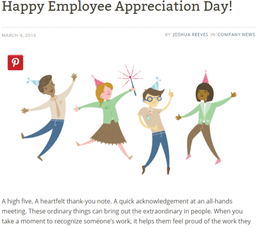 Happy Employee Appreciation Day! - 5 Perky Blogs in the Payroll Industry: Which Content Strategy Stand Out?