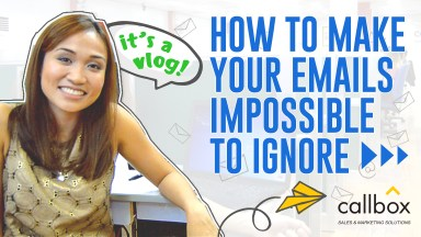 Email Marketing Series: How to Make Emails your Impossible to Ignore [Video]