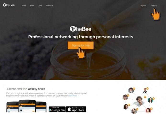 bebee sign up
