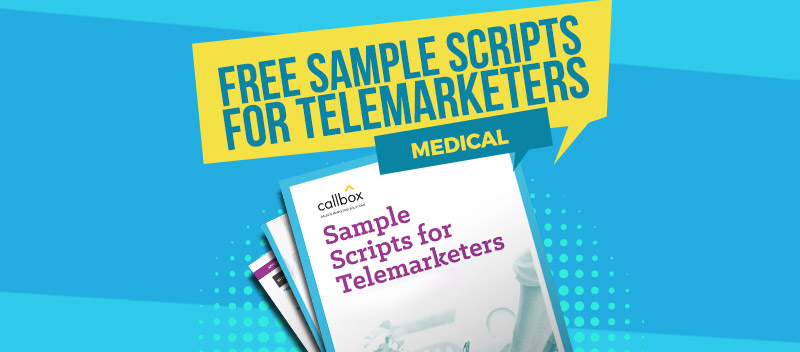 Sample Scripts for Telemarketers - Medical
