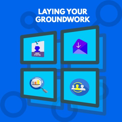 Laying the groundwork - A Complete Cheat Sheet to Social Media Branding for Consulting Firms