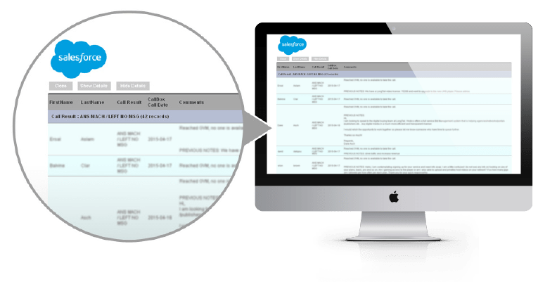 Salesforce Report Engine