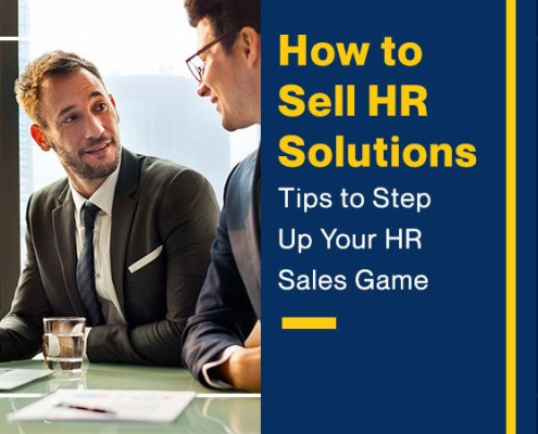 How To Sell HR Solutions (Tips To Step Up Your HR Sales Game) - Featured Image