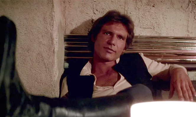 Go with the flow (Photo of Hans Solo)