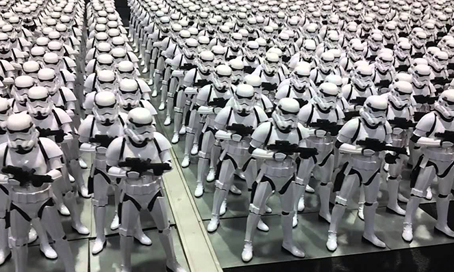 Photo of stormtroopers (too many to choose from)