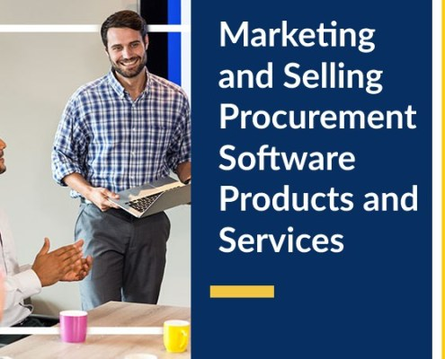 Marketing and Selling Procurement Software Products and Services