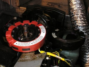 Sport Jet 90 Black to Red Stator Conversion  With Pics