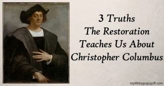 Christopher Columbus is one of the most controversial historical figures. Whereas academia has demonized him, the leaders of the church have defended him as instrumental in the hands of God.