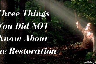 The Restoration started in the Spring of 1820, but God started preparing the world before 1820. Here are 3 Things You Did NOT Know About The Restoration