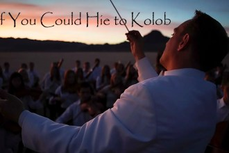 if you could hie to kolob orchestra