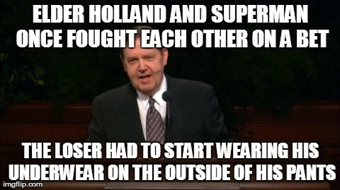 elder holland chuck norris