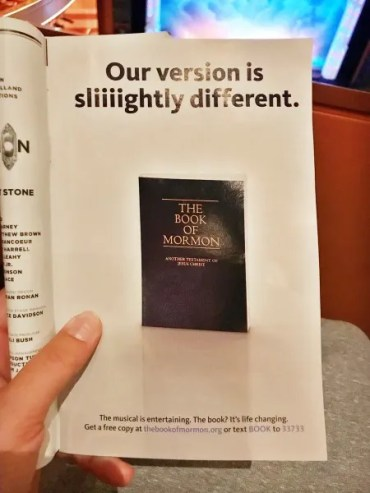 The Greatest Book Of Mormon Musical Thread Ever