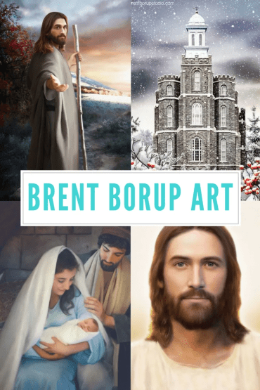 inspirational lds artwork brent borup
