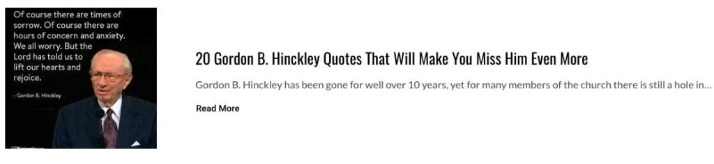 quotes on positivity gordon b hinckley