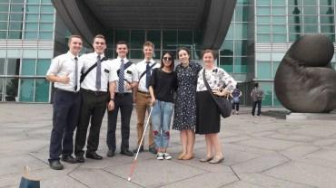 hidden camera mormon missionaries blind woman