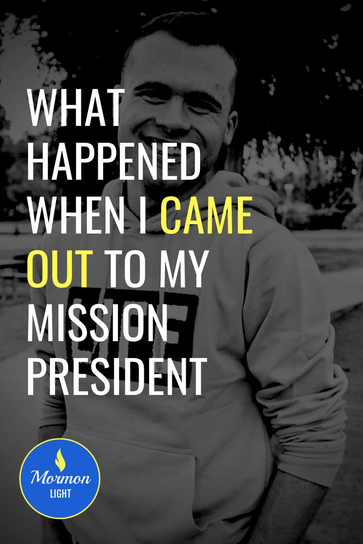 What Happened When I Came Out to My Mission President