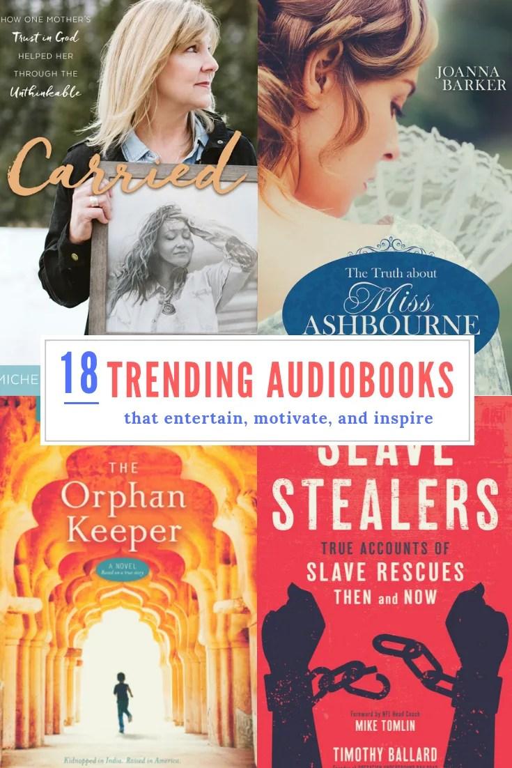 18 trending audiobooks deseret bookshelf