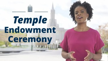 mormon temple endowment ceremony