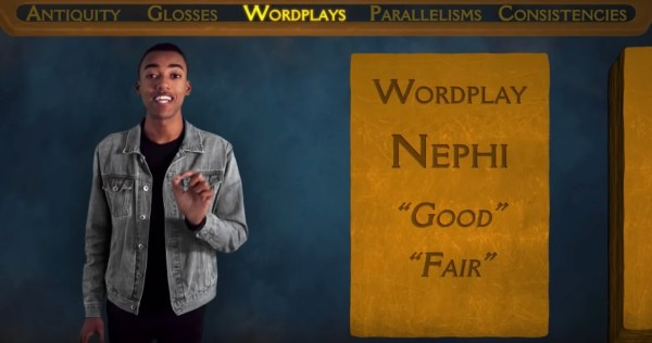 Nephi's name good and fair