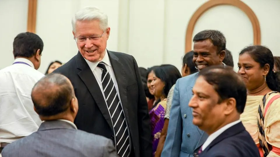 elder ballard first visit to india