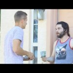 VIDEO: Knocking on Strangers' Doors, Then Paying Their Rent