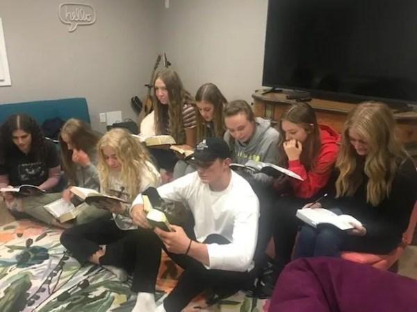 student led scriptures
