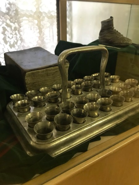 old sacrament tray